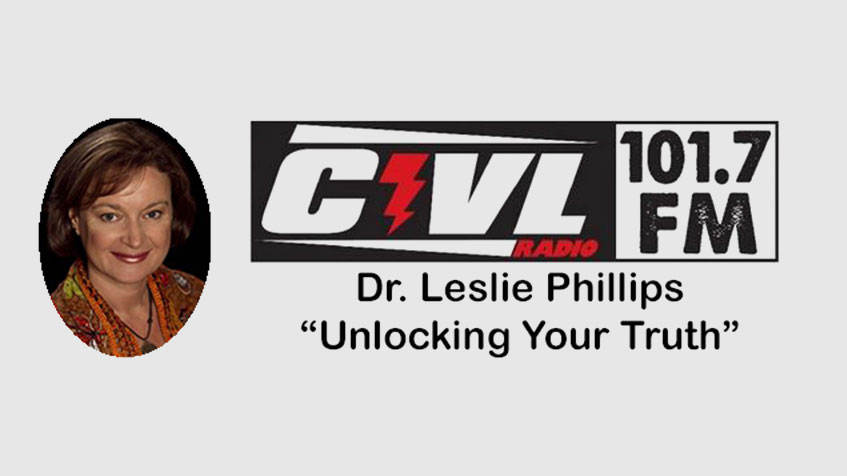 Audio interview with Dr. Leslie Phillips on Unlocking Your Truth
